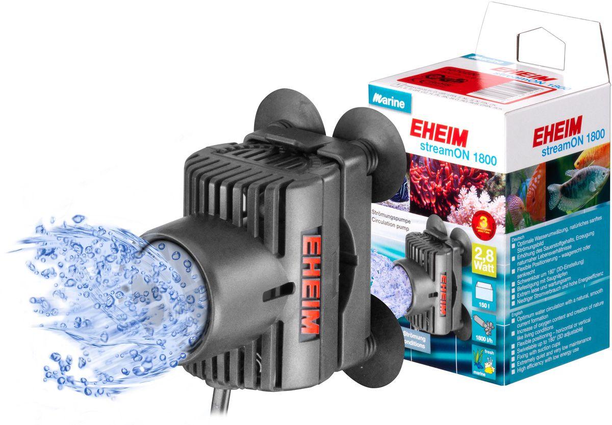 Помпа перемешивающая Eheim Stream-On 18001070220Использование насоса для течения в пресноводном аквариуме позволяет значительно улучшить окружающую среду за счет лучшего снабжения кислородом