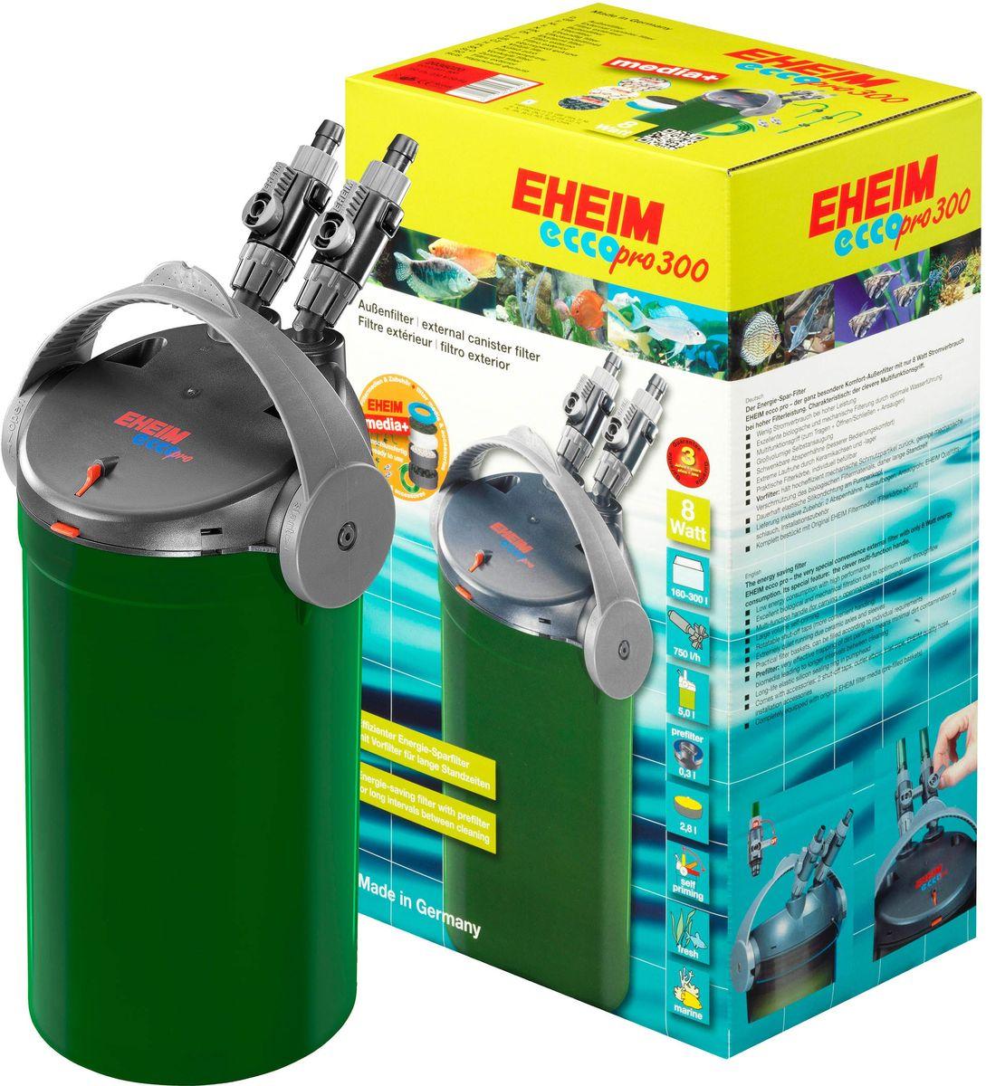 Фильтр внешний Eheim Eccopro 3002036020Проста в использовании и очень низкое энергопотребление. Оснащен контрольными и запорными клапанами, корзинами для наполнителей, предварительным фильтром и технологией автоматического всасывания, управляемой многофункциональным переключателем.