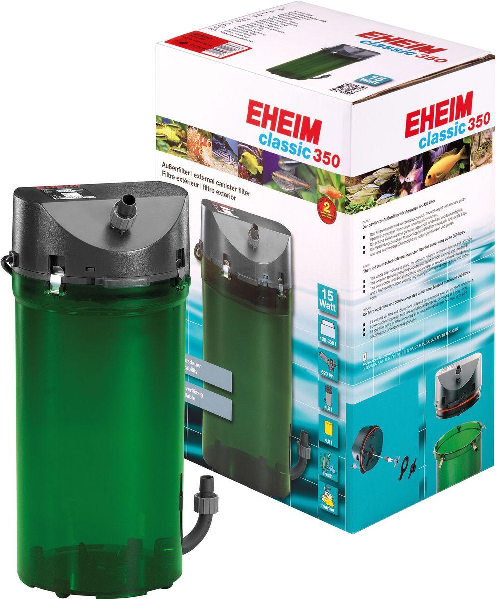Фильтр внешний Eheim Classic 350, краны, губки и био наполнитель2215050Надежнаяи проверенная стандартная линия фильтров с отличными механическими и биологическими фильтрующими свойствами.