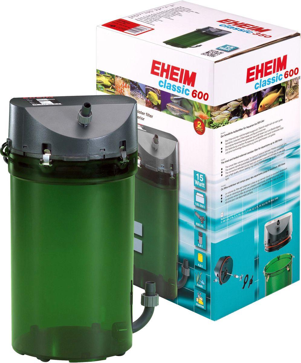 Фильтр внешний Eheim Classic 600, краны, губки и био наполнитель2217050Надежнаяи проверенная стандартная линия фильтров с отличными механическими и биологическими фильтрующими свойствами.