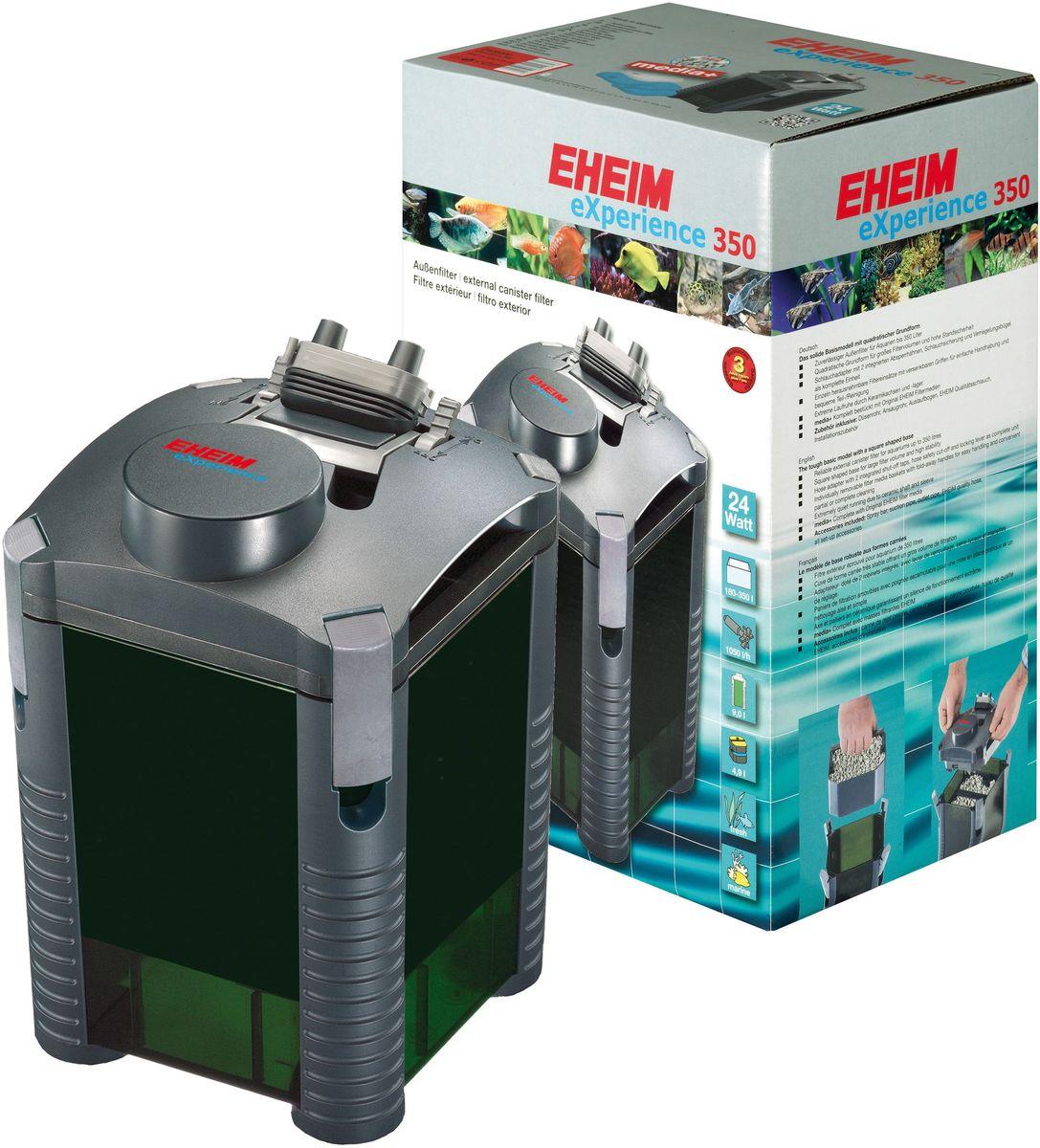 Фильтр внешний Eheim Experience 3502426020Прочная базовая модель квадратной формы для фильтров большого обьема и высокой устойчивости. Съёмный адаптер для шланга со встроенными запорными кранами,защитным покрытием шланга и прижимной скобой в виде единого блока. Отдельно съёмные корзины для наполнителей с выдвижными ручками для удобства при перемещении и удобной частичной/полной очистки.