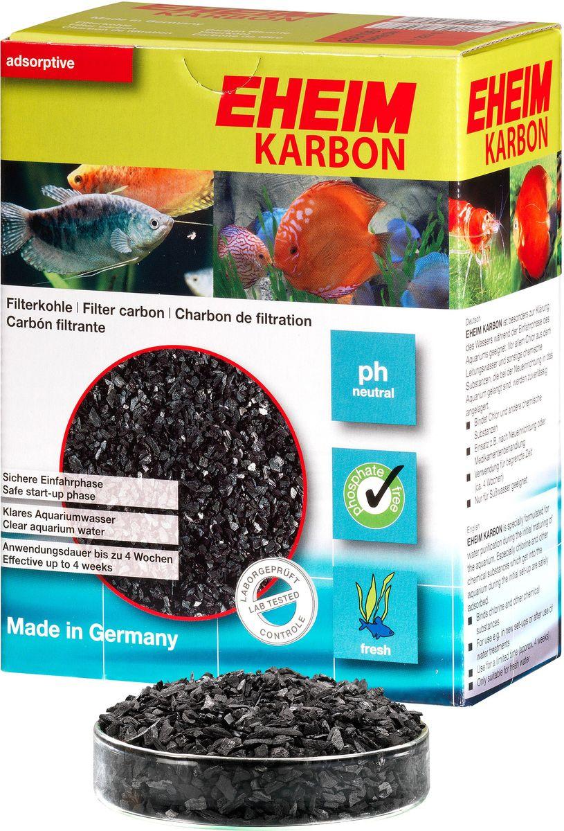 Наполнитель для фильтра Eheim Karbon, активированный уголь, 1 л2501051Уголь Ehaim KARBON обеспечивает быстрый сбор растворенных в воде вредных веществ,пестицидов.Не содержит тяжелых металлов, обладает нетральным уровнем pH
