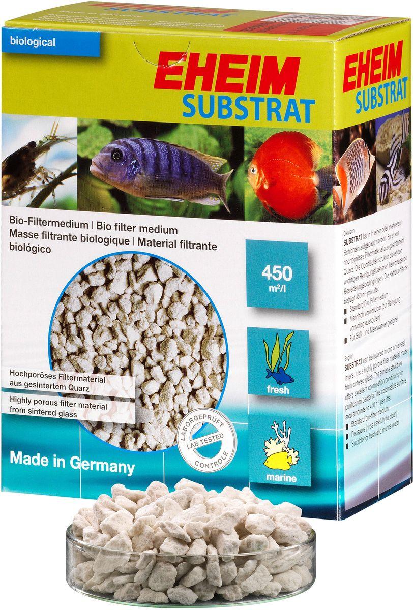 Наполнитель для фильтра Eheim Substrat, субстрат, 2 л2509101Пористый материал обеспечивает среду для биологической очистки воды за счет предоставления большой площади поверхности для заселения колоний важных бактерий. Для морских и пресноводных аквариумов