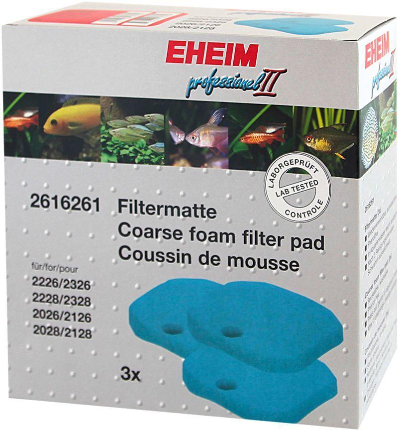Наполнитель для фильтра Eheim Experience 350, поролон, 3 шт2616261Губка грубая для механической и биологической очистки воды в фильтрах EXPERIENCE.