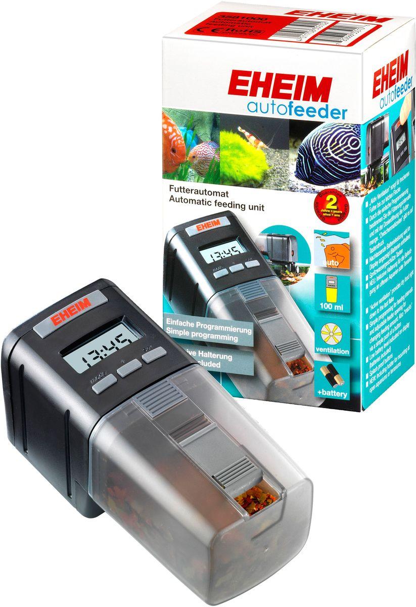 Кормушка аквариумная Eheim Feed-Air3581000Автоматическая кормушка для аквариумов: программирование до 2 кормлений в сутки; регулируемое дозирование корма; емкость для корма- на 60 кормлений (30суток); для хлопьев,палочек, таблеток