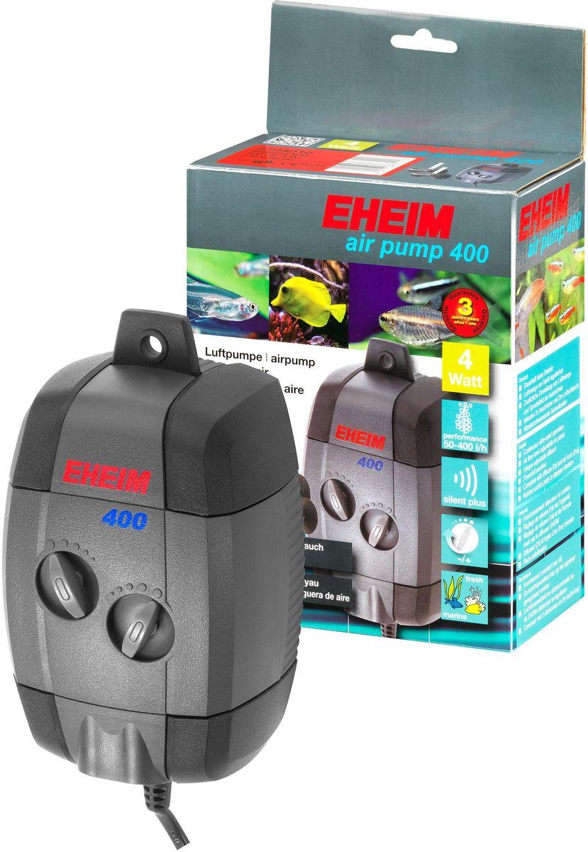 Компрессор для аквариума Eheim Air Pump 4003704010Непрерывная бесшумная работа; воздушный поток регулируется на корпусе 1/2; распылитель воздуха 3 регулирует количество воздуха и выходящие из него пузырьки