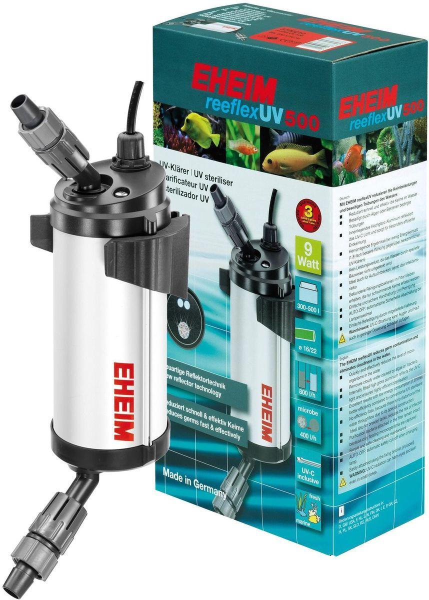 Стерилизатор для аквариума Eheim Reeflex-Uv-5003722210Быстро и эффективно снижает количество микроорганизмов в воде. Устраняет замутнение, вызванное водорослями или бактериями. Находящийся внутри глянцевый алюминиевый слой отражает УФ свет и обеспечивает особо эффективное обеззаораживание. Предотвращает потерю производительности благодаря специальной конструкции, сохраняющей движение воды. Также идеально подходит для отсадников, снижает риск инфекционного заражения.Фильтрующие бактерии, обитающие в субстракте, сохраняются до появления плавающих форм. Простой и безопасный в обращении и очистке. AUTO-OFF автоматическое предохранительное отключение при замене ламп.