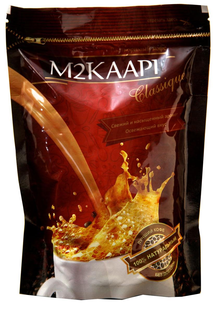 M2Kaapi кофе растворимый гранулированный, 200 г (пакет)УТ20100% натуральный кофе растворимый гранулированный M2Kaapi. Кофе не содержит искусственных добавок и ароматизаторов, содержит 3,77 % кофеина.