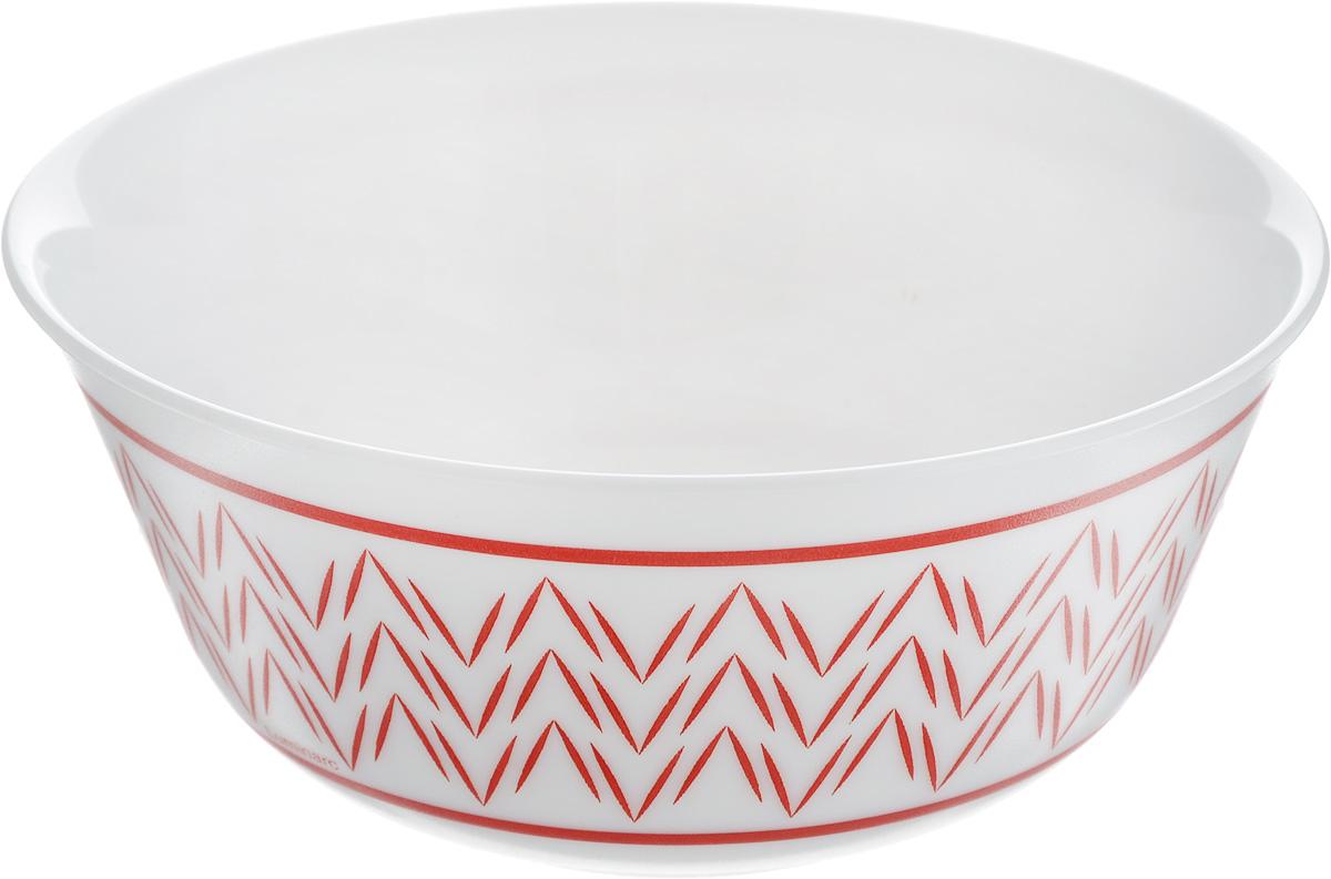 Салатник Luminarc Battuto, диаметр 12 смJ7840Великолепный круглый салатник Luminarc Battuto, изготовленный из ударопрочного стекла, прекрасно подойдет для подачи различных блюд: закусок, салатов или фруктов. Классический стиль, простой узорчатый рисунок на белоснежном фоне идеально подойдут для повседневной трапезы в кругу семьи. Такой салатник украсит ваш праздничный или обеденный стол, а оригинальное исполнение понравится любой хозяйке. Бренд Luminarc - это один из лидеров мирового рынка по производству посуды и товаров для дома. В основе процесса изготовления лежит высококачественное сырье, а также строгий контроль качества. Товары для дома Luminarc уважают и ценят во всем мире, а многие эксперты считают данного производителя эталоном совершенства. Диаметр салатника (по верхнему краю): 12 см.