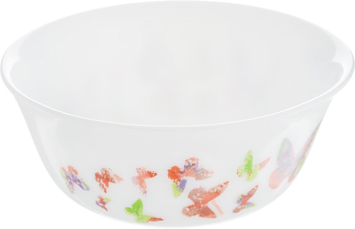 Салатник Luminarc Минесенс, диаметр 12 смL1480Великолепный круглый салатник Luminarc Минесенс, изготовленный из ударопрочного стекла, прекрасно подойдет для подачи различных блюд: закусок, салатов или фруктов. По бокам изделие оформлено оригинальным принтом. Такой салатник украсит ваш праздничный или обеденный стол, а оригинальное исполнение понравится любой хозяйке. Бренд Luminarc - это один из лидеров мирового рынка по производству посуды и товаров для дома. В основе процесса изготовления лежит высококачественное сырье, а также строгий контроль качества. Товары для дома Luminarc уважают и ценят во всем мире, а многие эксперты считают данного производителя эталоном совершенства. Диаметр салатника (по верхнему краю): 12 см.