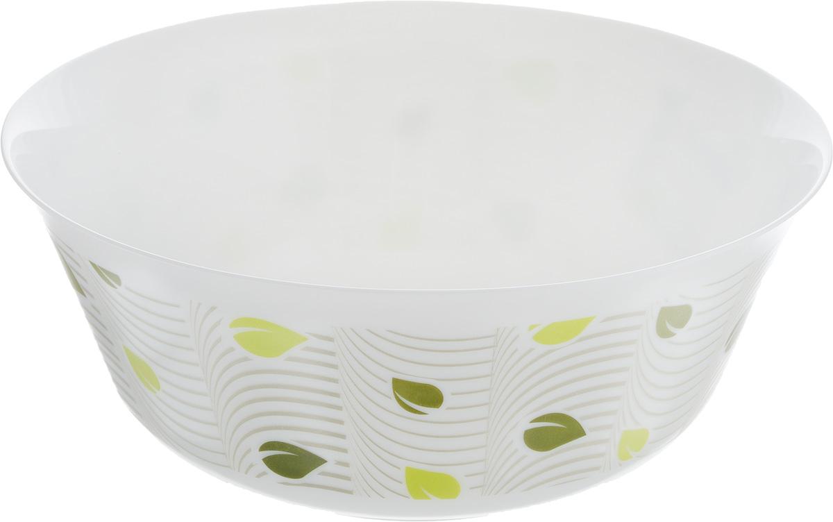 Салатник Luminarc Amely, диаметр 24 смJ2306Великолепный круглый салатник Luminarc Amely, изготовленный из ударопрочного стекла, прекрасно подойдет для подачи различных блюд: закусок, салатов или фруктов. Изделие оформлено оригинальным принтом. Такой салатник украсит ваш праздничный или обеденный стол, а оригинальное исполнение понравится любой хозяйке. Бренд Luminarc - это один из лидеров мирового рынка по производству посуды и товаров для дома. В основе процесса изготовления лежит высококачественное сырье, а также строгий контроль качества. Товары для дома Luminarc уважают и ценят во всем мире, а многие эксперты считают данного производителя эталоном совершенства. Диаметр салатника (по верхнему краю): 24 см.