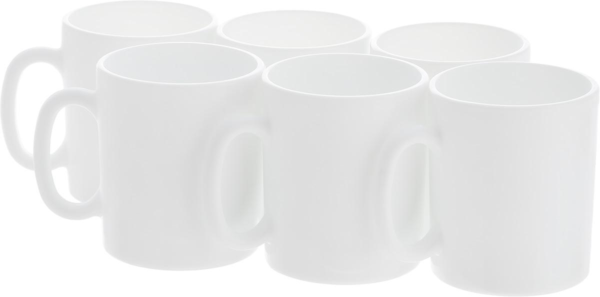Набор кружек Luminarc Эссенс, 320 мл, 6 штJ3008Набор Luminarc Эссенс состоит из шести кружек с удобными ручками, выполненных из прочного стекла с глазурованным покрытием. Посуда Luminarc будет радовать вас качеством изготовления. Изделия можно использовать в микроволновой печи. Разрешено мыть в посудомоечной машине. Объем кружки: 320 мл. Диаметр (по верхнему краю): 8 см. Высота: 9 см.