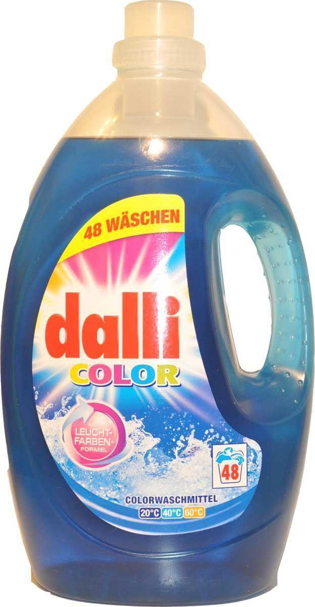 Гель для стирки цветного белья Dalli Колор Гель XL, на 48 стирок, 3,6 л527281Концентрированный гель для стирки цветного и белого белья, не требующего отбеливания, с системой защиты цвета при Т 30С-60С. Специальная формула не только восстанавливает цвет, и ухаживает за волокнами, но и надежно защищает яркость, свежесть и насыщенность красок.Не содержит фосфаты, не требует доп. средств от извести. Применение: нормальное загрязнение, средняя вода-75мл=2 колпачка, ручная стирка 38 мл= 1 колпачок на 5 литров воды. Состав: 5-15% анионовые тензиды, неанионные тензиды, менее 5% мыло и фосфонаты, содержит энзимы, отдушку.
