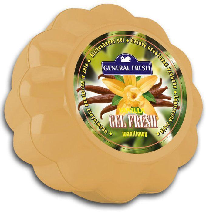 Освежитель воздуха General Fresh Gel Fresh, гелевый, 1 шт. 589016589016Освежитель воздуха в геле GEL FRESH круглосуточного действия. Имеет декоративное оформление, различные цвета и различные ароматы. Постоянный источник приятного запаха.