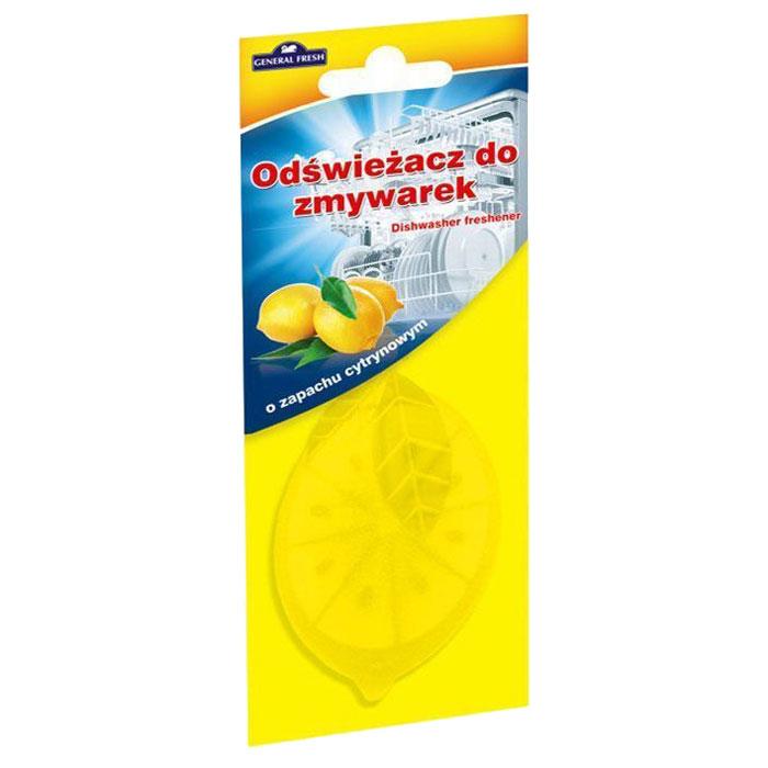 Освежитель General Fresh Odswiezacz Do Zmywarek, для посудомоечных машин, 1 шт. 593900593900Освежитель для посудомоечных машин ODSWIEZACZ DO ZMYWAREK лимон это конец неприятным запахам из посудомоечной машины. Независимо от того, только что закончилось время мытья, или вы в процессе загрузки следующей партии посуды, вы не будете чувствовать ничего кроме свежих запахов. Благодаря освежителю, использование посудомоечной машины будет таким приятным, как никогда раньше. Удобный в подвеске освежитель для посудомоечной машины General Fresh доступен в трех вариантах запаховых композиций: лимон, зеленое яблоко и мята.