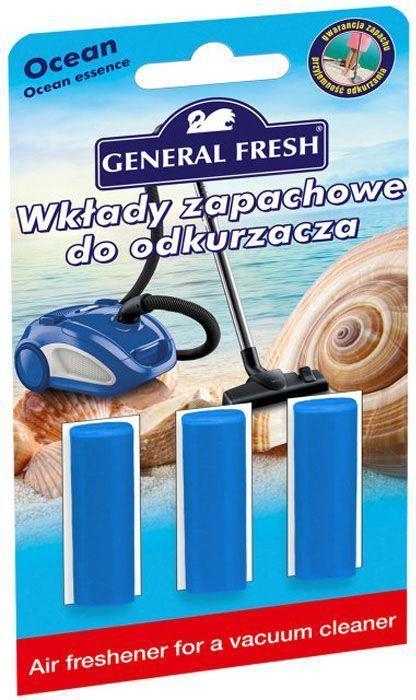 Освежитель воздуха General Fresh Air Fresh, для пылесоса, 1 шт. 595120595120Освежитель воздуха для пылесоса AIR FRESH нейтрализует неприятные запахи, оставляя в доме приятный аромат. Досконально подобранная ароматическая композиция обеспечивает длительный эффект до момента замены мешка