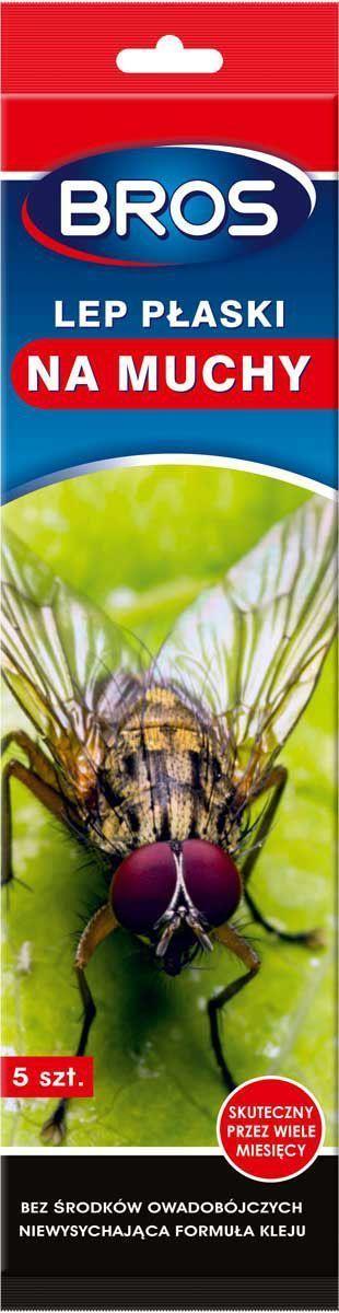 Лента от мух BROS, плоская, 5 шт.700199BROS Лента от мух плоская. Новейший вид липкой ленты от летающих насекомых. Специальная рецептура клея делает, что он сохраняет эффективность до 12 месяцев после вскрытия упаковки. Эстетичный вид липкой ленты позволяет использовать ее в любом помещении. 5 шт Липкая лента-полоска от мух для уничтожения мух в помещениях. Липкую ленту можно использовать в жилых, хозяйственных и административных помещениях, особенно там, где не рекомендуется применять средства для борьбы с насекомыми, содержащие инсектициды. Применение: Сорвать верхний защитный слой бумаги и повесить липкую ленту в месте скопления насекомых. Кроме того, можно свернуть липкую ленту в кольцо, склеив короткие концы, и поставить в месте скопления мух. Не рекомендуется вешать липкой ленты непосредственно над продуктами питания. Липкая лента не содержит инсектицидов. Продукт не содержит опасных веществ. Использованную липкую ленту следует выбросить в мусорный ящик. Состав: ароматические...