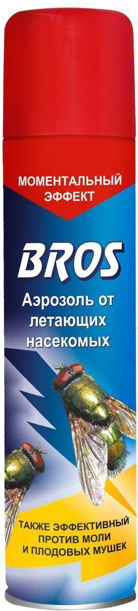 Аэрозоль BROS, от летающих насекомых, 250 мл706862BROS Аэрозоль от летающих насекомых. Препарат в аэрозоли для борьбы с летающими насекомыми. Сочетание нескольких новейших активных веществ позволило достичь как мгновенного действия (эффект нокдауна), так и эффективности там, где насекомые стали устойчивы к прежде применяемым препаратам. 250 мл Прозрачная жидкость в аэрозольой упаковке. Для уничтожения в помещениях летающих насекомых (мух, комаров, москтов, мошек, бабочек моли). Применение: Закрыть окна и двери. Перед применением баллон встряхнуть. Обработку следует проводить, двигаясь спиной от окна по направлению к выходу. Направить струю аэрозоля в воздух, держа баллон вертикально. Норма расхода средства: 7 - 8 сек. распыления на помещение площадью 14 - 18 м2. Распылять на расстоянии 1 м от стен, мебели. Для уничтожения моли средством обрабатывают внутренние стенки шкафов, чемоданов, коробок и т.п. в течение 9 - 18 сек. Перед обработкой вынуть все вещи из шкафов, чемоданов, коробок. После обработки помещение...