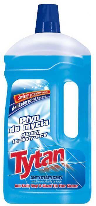 Жидкость Tytan, для мытья глазурованной плитки, терракоты, полов из ПВХ, 1 л714210Формула жидкости была разработана таким образом, чтобы оберегать очищаемые поверхности при каждом использовании. Жидкость обогащена антистатическим веществом, предотвращающим оседание пыли на убираемых поверхностях. Придает поверхностям нежный блеск - не оставляет разводов. Оставляет свежий и приятный запах.