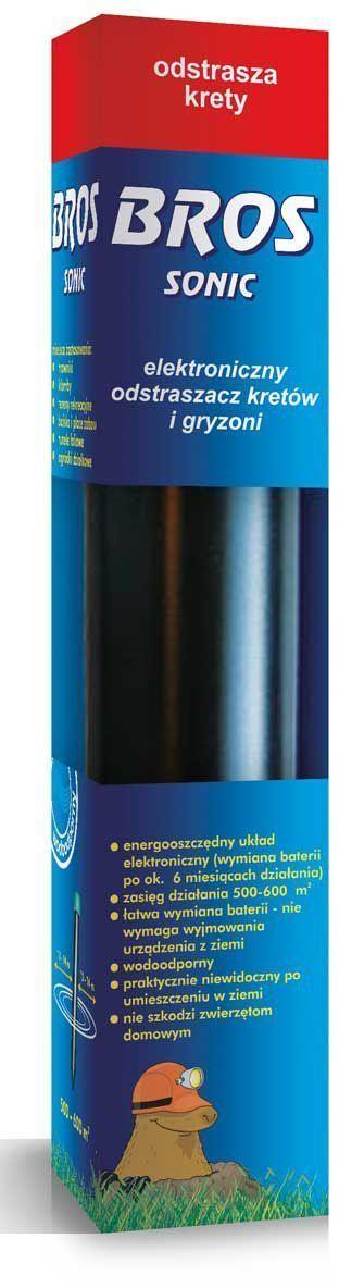 Электронный ультразвуковой отпугиватель кротов BROS Sonic, 1 шт.716923BROS SONIC - электронный ультразвуковой отпугиватель кротов. Устройство эмитирует ультразвкуки под поверхностью земли, которые являются особенно неприятными для кротов и полевок, роющих тунели под землей. Эффективно отпугивает вредителей, заставляя их покинуть охраняемую территория – не принося им при этом никакого вреда. Устройство находящееся в земле, действует нон-стоп и не требует никаких дополнительных действий. Устройство изготовлено из прочного пластика, а простой способ замены батареи не требует его вытягивания из земли. 1 шт Защита территории 500-600 м2 Средство для отпугивания кротов и грызунов энергосберегающая электронная система (замена батареек приблизительно через 6 месяцев работы) диапазон действия - до 500 – 600 м2 удобная замена батареек - устройство не надо доставать из земли водостойкий практически незаметен в земле не вредит домашним животным Применяется: на лужайках на клумбах в зонах отдыха на спортивных...