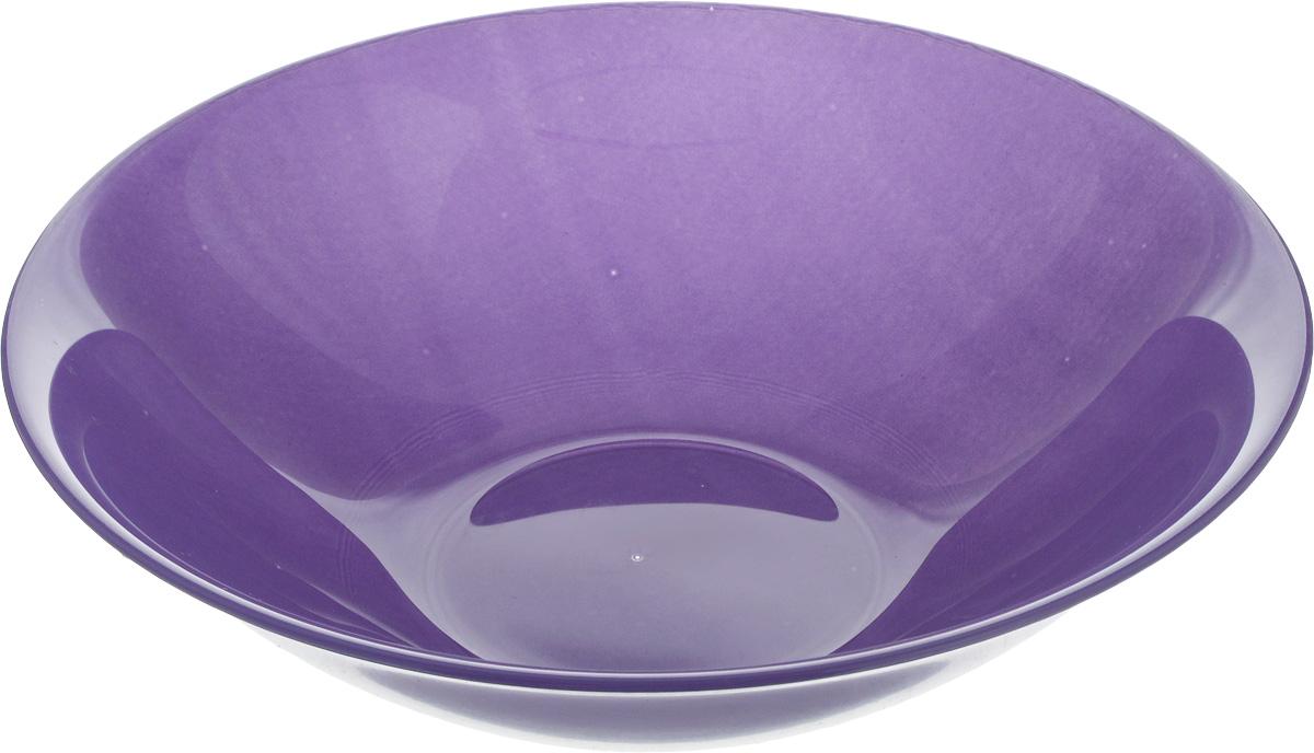 Салатник Luminarc АРТИ ПУРПЛ, диаметр 16,5 смL2858Бренд Luminarc – это один из лидеров мирового рынка по производству посуды и товаров для дома. В основе процесса изготовления лежит высококачественное сырье, а также строгий контроль качества. Товары для дома Luminarc уважают и ценят во всем мире, а многие эксперты считают данного производителя эталоном совершенства.