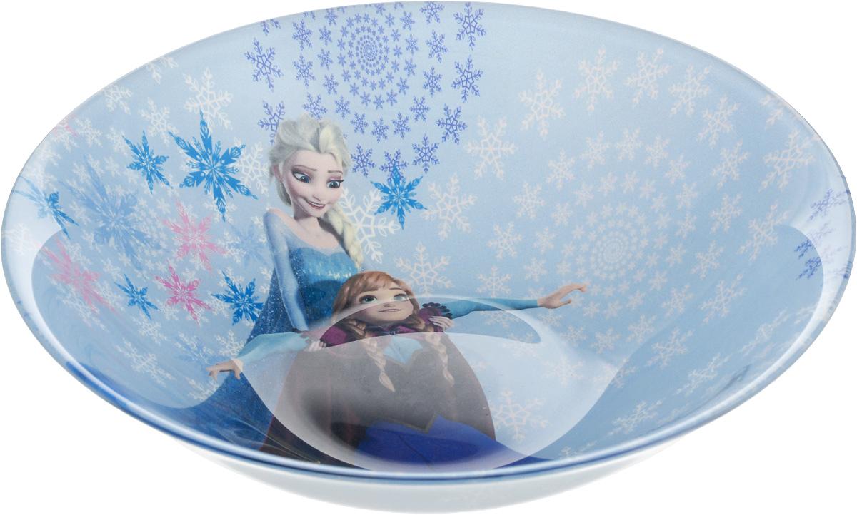 Салатник Luminarc Disney Frozen, диаметр 16 смL0868Салатник Luminarc Disney Frozen выполнен из ударопрочного стекла. Оригинальный рисунок с изображением любимых героев сказки несомненно понравится вашему ребенку. Можно мыть в посудомоечной машине и использовать в СВЧ. Диаметр (по верхнему краю): 16 см. Высота салатника: 5 см.