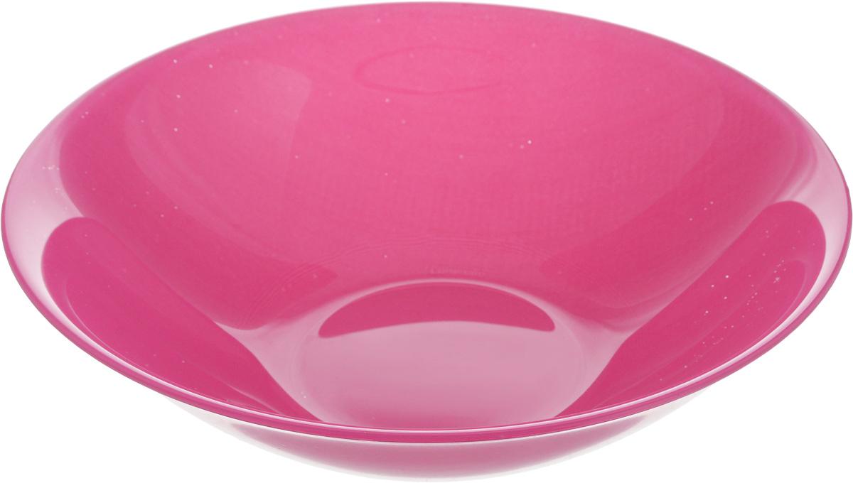Салатник Luminarc Arty Pink, диаметр 16,5 смL2857Классический салатник Luminarc Arty Pink изготовлен из ударопрочного стекла. Изделие прекрасно подойдет для подачи различных блюд: закусок, салатов или фруктов. Бренд Luminarc - это один из лидеров мирового рынка по производству посуды и товаров для дома. В основе процесса изготовления лежит высококачественное сырье, а также строгий контроль качества. Товары для дома Luminarc уважают и ценят во всем мире, а многие эксперты считают данного производителя эталоном совершенства. Диаметр салатника (по верхнему краю): 16,5 см. Высота салатника: 4,5 см.