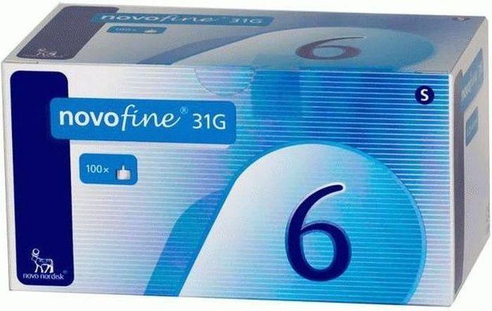 Иглы для шприц-ручки Novofine, 0,25 мм (31G) х 6 мм, 100 шт1838Иглы одноразовые для введения инсулина Новофайн (NovoFine) от компании Ново Нордиск (Novo Nordisk) используются в шприц-ручках для инъекций инсулина практически всех производителей. Длина иглы 6 мм, диаметр 31G (0,25 мм); Иглы Новофайн совместимы со следующими шприц-ручками для инсулина: • Шприц-ручка АвтоПен 24 (AutoPen 24) • Шприц-ручка АвтоПен Классик (AutoPen Classic) • Шприц-ручка Баетта Пен (Byetta Pen) • Шприц-ручка БерлиПен 302 (BerliPen 302) • Шприц-ручка БерлиПен Арео (BerliPen Areo) • Шприц-ручка БерлиПен Арео 2 (BerliPen Areo 2) • Шприц-ручка Биоматик Пен • Шприц-ручка Биосулин Пен • Шприц-ручка Виктоза Пен (Victoza Pen) • Шприц-ручка ИнноЛет (InnoLet) • Шприц-ручка КвикПен (KwikPen) • Шприц-ручка Новопен 3 (NovoPen 3) • Шприц-ручка Новопен 3 Деми (NovoPen 3 Demi) • Шприц-ручка НовоПен 4 (NovoPen 4) • Шприц-ручка НовоПен Джуниор (NovoPen Junior) • Шприц-ручка НовоПен Эхо (NovoPen Echo) •...