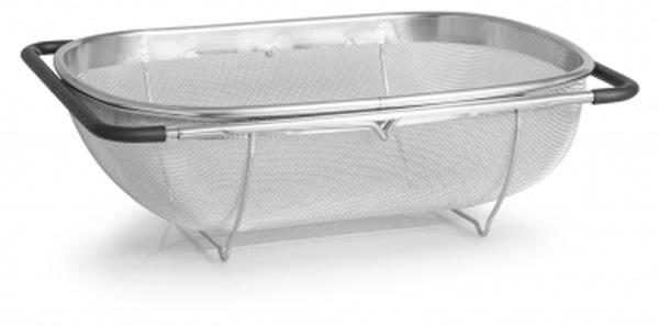 """Корзина в раковину Attribute """"Steel Touch"""", 34 х 24 см"""