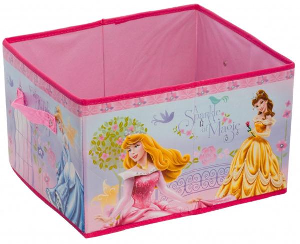 Коробка для хранения Attribute Принцессы, 33 х 28,5 х 20 смASC028