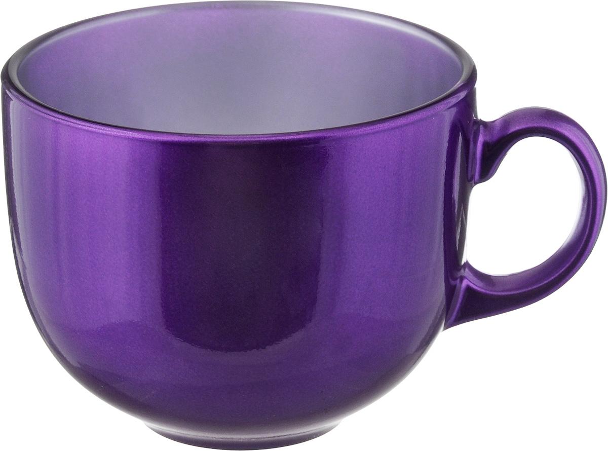 Бульонница Luminarc Flashy Colors, цвет: фиолетовый, 500 млJ1115Бульонница Luminarc Flashy Colors, изготовлена из высококачественного стекла, оснащена эргономичной ручкой. Изделие дополнит коллекцию кухонной посуды и будет служить долгие годы. Можно мыть в посудомоечной машине и использовать в микроволновой печи. Диаметр (по верхнему краю): 10,5 см. Высота бульонницы: 9 см.