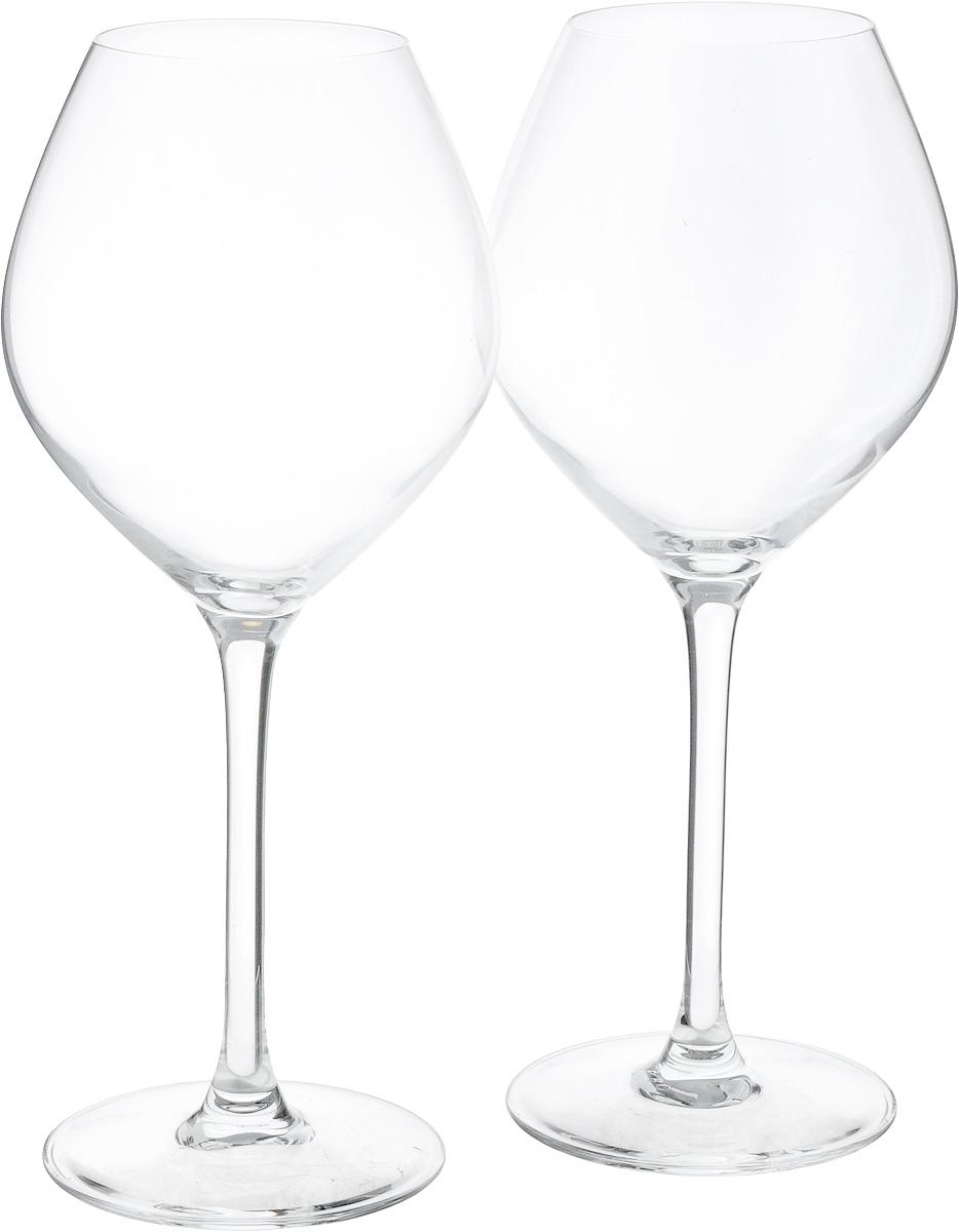 Набор бокалов Luminarc Vinery Excellence, 470 мл, 2 штE8037Набор Luminarc Vinery Excellence состоит из трех бокалов, выполненных из ударопрочного стекла. Изделия оснащены высокими ножками и предназначены для подачи белого вина. Такой набор прекрасно оформит праздничный стол и создаст приятную атмосферу за романтическим ужином. Диаметр фужера (по верхнему краю): 6 см. Высота фужера: 22,8 см.
