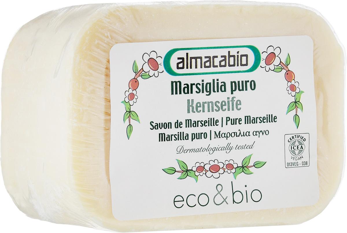 Мыло для стирки Almacabio Марсельское, 250 г30337Производится по старинным итальянским рецептам. Формула на основе оливкового и кокосового масла, не содержит консервантов, животных жиров, EDTA, синтетических минеральных наполнителей и синтетических стабилизаторов. Содержит растительный глицерин для максимально деликатного воздействия на кожу.
