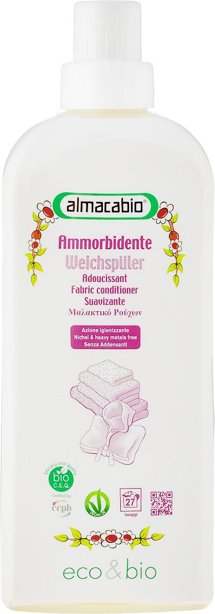 Кондиционер для белья Almacabio Fabric Conditioner, 1 л17746Кондиционер для белья Almacabio Fabric Conditioner распрямляет ткани и снижает количество остатков кальция, оседающих на белье при стирке. Придает одежде мягкость, смягчает волокна тканей, обеспечивает мягкость льняной и деликатной одежды. Без загустителей. Облегчает процесс глажения. Деликатен к тканям, коже рук и ногтям, не требует использования перчаток, гипоаллергенно. Не содержит фосфор, фосфаты, энзимы и компоненты животного происхождения. Возможно загустение средства. Перед применением встряхивать. Товар сертифицирован.