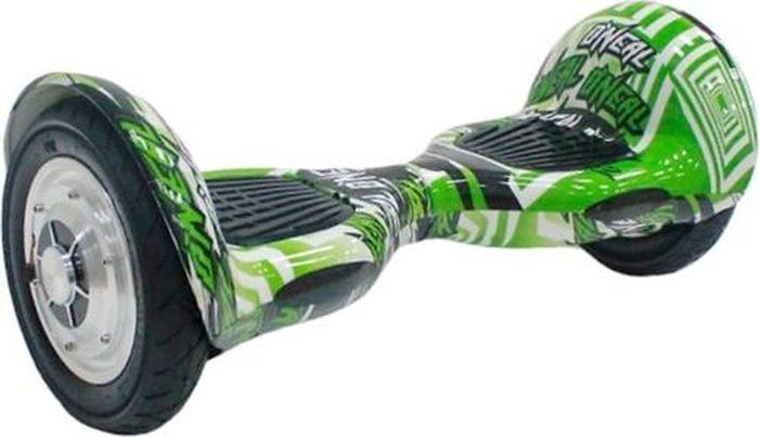Гироборд Smart Balance 10, цвет: green multicolor (зеленый). SMART10GMSMART10GMГироскутер Smart balance 10 - оригинальное средство передвижения с увеличенными колесами по городским улицами парковым зонам. Также его часто используют для перемещения по крупным складским или промышленным помещениям. Устройство работает на мощном электрическом моторе, заряжается от сети. Оно безопасно для окружающей среды,не выбрасывает опасные соединения, работает бесшумно и без вибрации