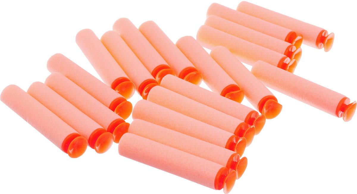 Junfa Toys Набор снарядов для бластера с присосками цвет оранжевый 20 шт