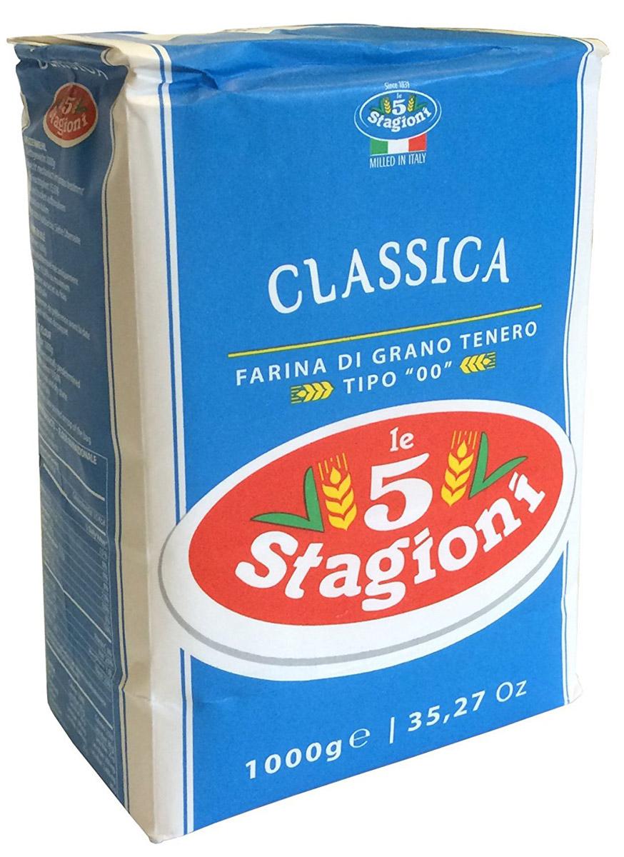 5 Stagioni Мука для пиццы из мягких сортов пшеницы, 1 кг 8021274041010