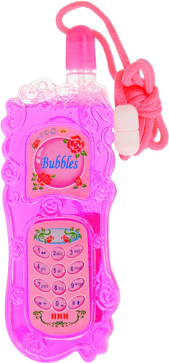 Uncle Bubble Мыльные пузыри Сотовый цвет розовый
