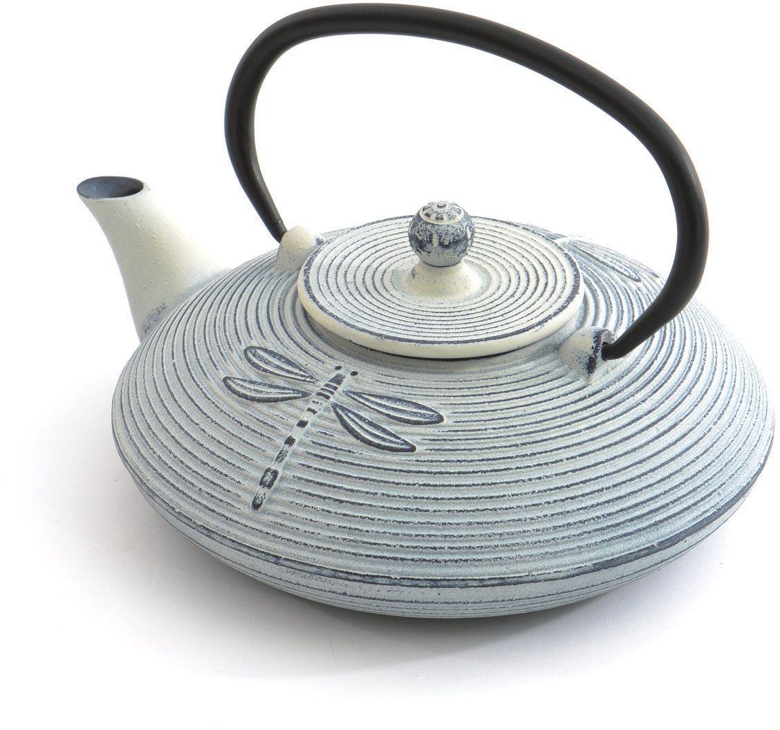 Чайник заварочный BergHOFF Studio, чугунный, цвет: белый, 800 мл1107116