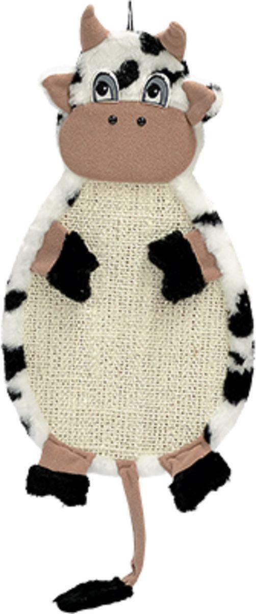 Когтеточка подвесная Зооник Коровка, ткань сизалевая, 53 х 29 х 3 см22372Удобная и прочная когтеточка подвесная Зооник будет прекрасным подарком для вашей кошки. Когтеточка сделана из ДСП, обтянута натуральной веревкой сизаль и мягким мехом, легко чистится. Размеры конструкции позволяют даже самой крупной кошке вытянуться в полный рост и привести свой маникюр в порядок. Легко крепится на стену на любую удобную для Вашего любимца высоту.