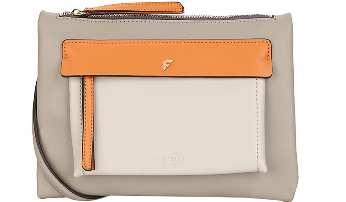 Сумка женская Fiorelli, цвет: серый, оранжевый, белый. 8631 FH Grey Mix8631 FH Grey Mix