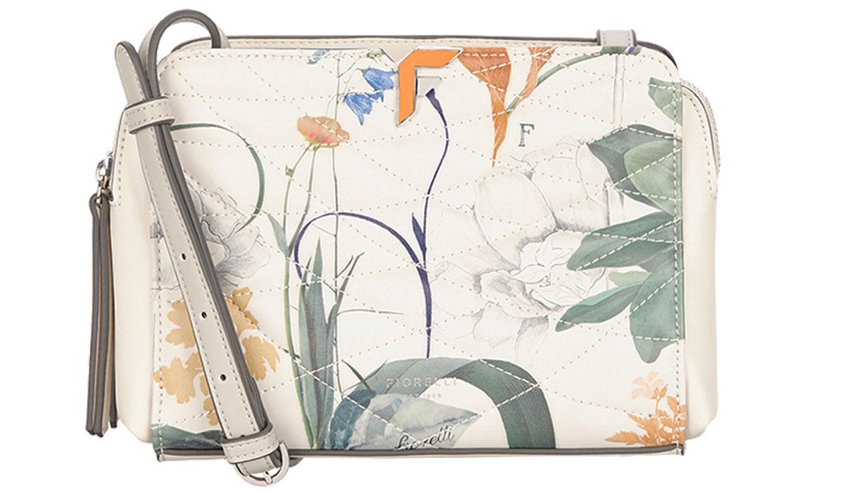 Сумка женская Fiorelli, цвет: белый. 8637 FH Whtbotanical8637 FH Whtbotanical