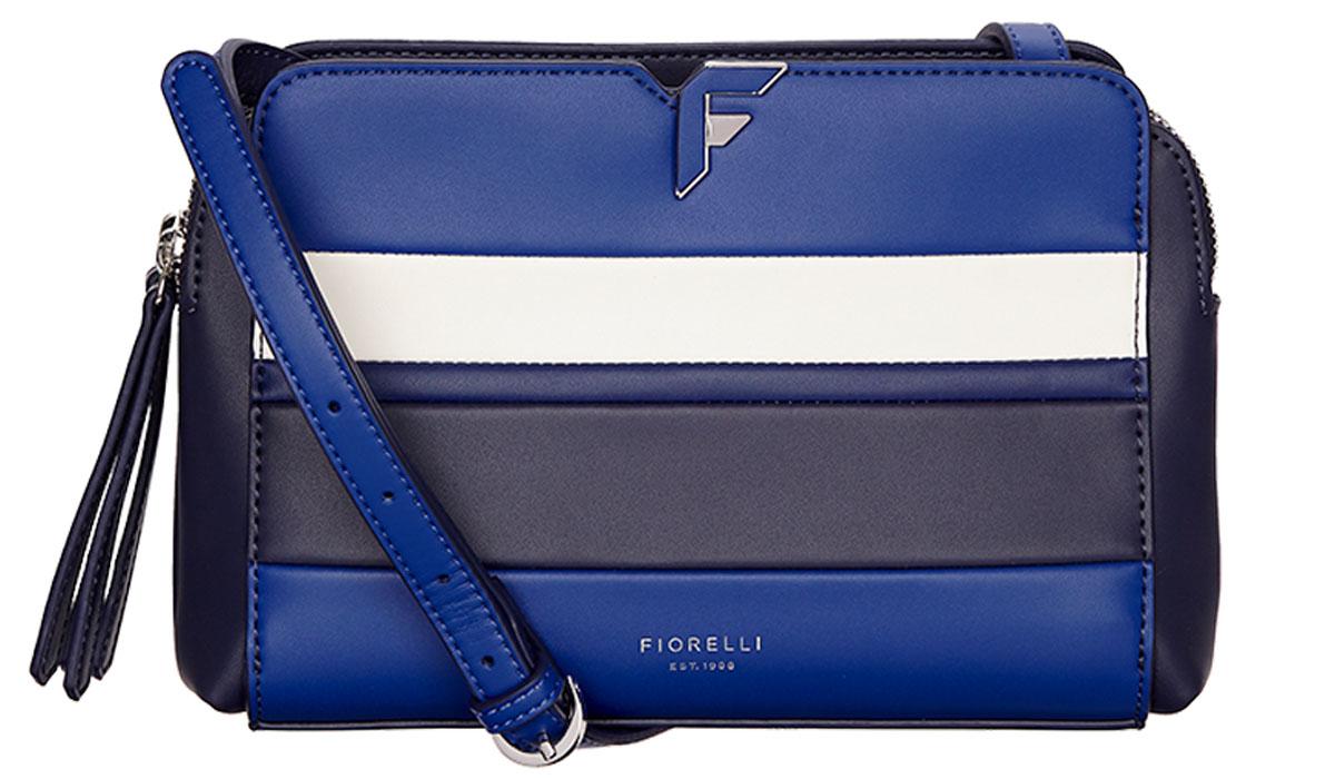 Сумка женская Fiorelli, цвет: синий, белый, черный. 8637 FH Riviera Strp8637 FH Riviera Strp