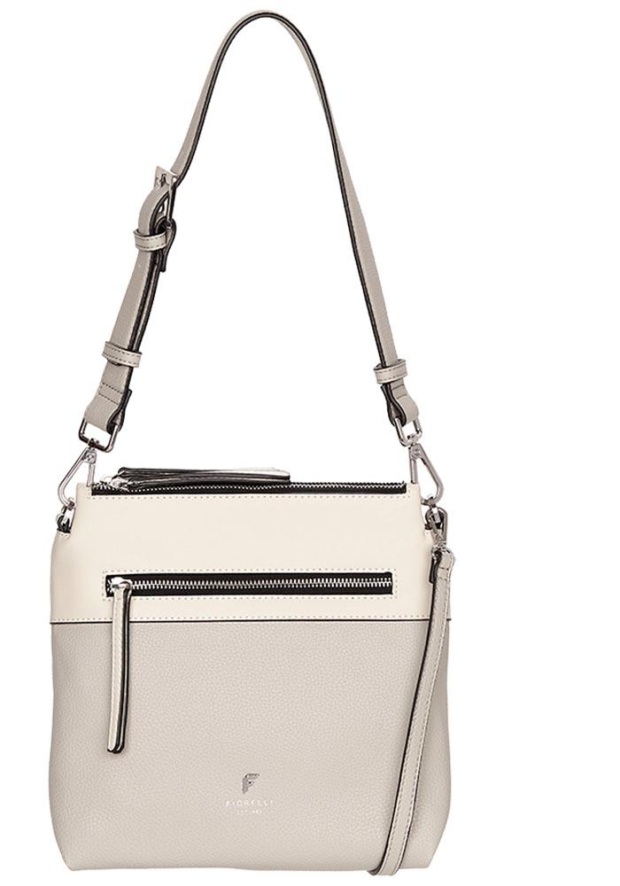 Сумка женская Fiorelli, цвет: белый, светло-серый. 8671 FH White mix8671 FH White mix