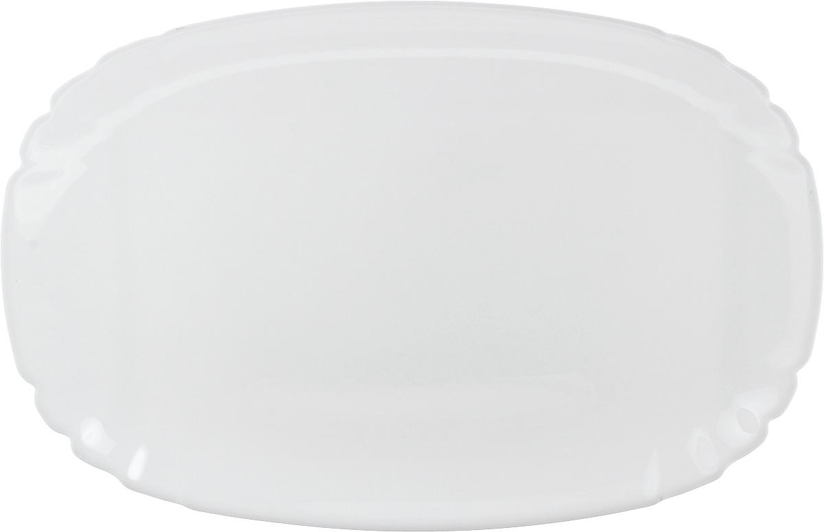 Блюдо Luminarc Lotusia, овальное, 34 х 23 смL2352Овальное блюдо Luminarc Lotusia, изготовленное из ударопрочного стекла, оформлено в классическом стиле. Изделие идеально подойдет для сервировки стола и станет отличным подарком к любому празднику.