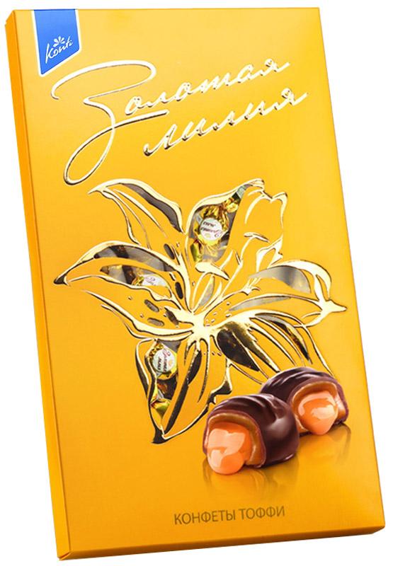 Konti Золотая лилия конфеты глазированные, 258 г 4600495519580