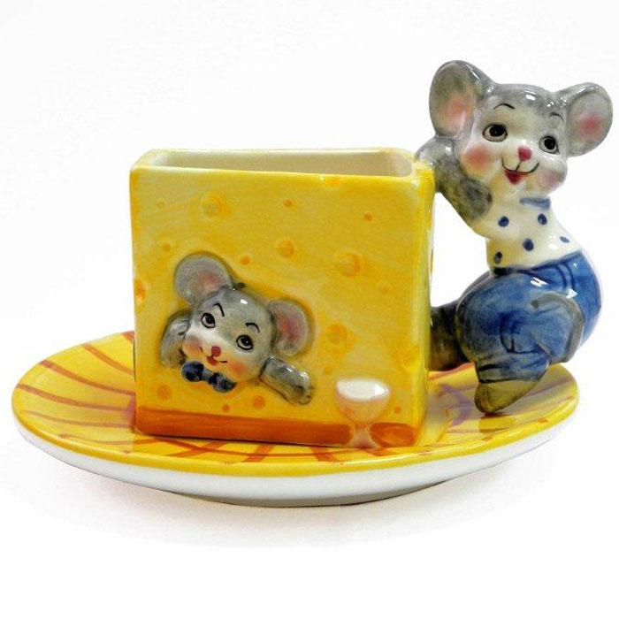 Набор Дом и все, что в нем Мыши с сыром , чашка с блюдцемDBD1185