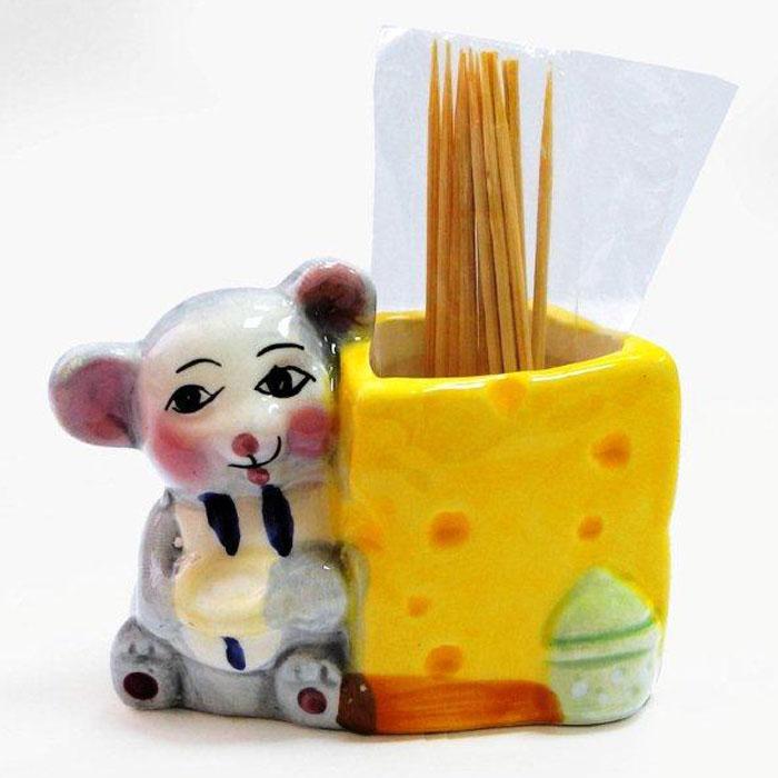 Подставка для зубочисток Дом и все, что в нем Мыши с сыромD0905