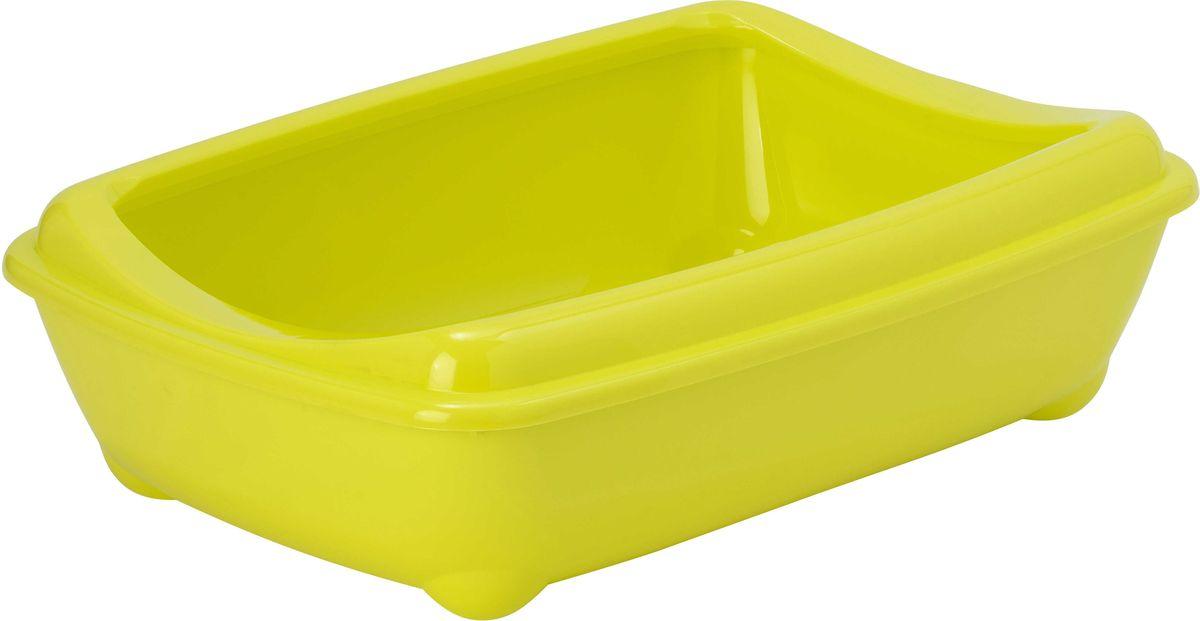 Открытый туалет для кошек Moderna Arist-O-Tray, цвет: лимон, 31 х 42 х 13 см14C132329