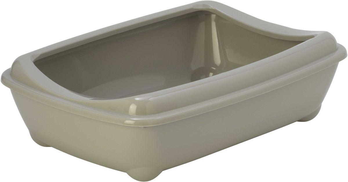 Открытый туалет для кошек Moderna Arist-O-Tray, цвет: светло-серый, 31 х 42 х 13 см14C132330
